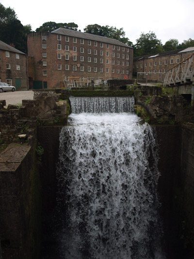 Richard Arkwright's original mill, Cromford